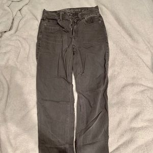 American Eagle Outfitters Jeans - Dark grey mom jeans